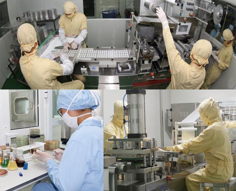 Minh Nhãn Khang được sản xuất trên công nghệ dây truyền hiện đại